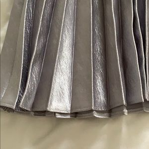 ASOS Skirts - Silver pleated ASOS skirt